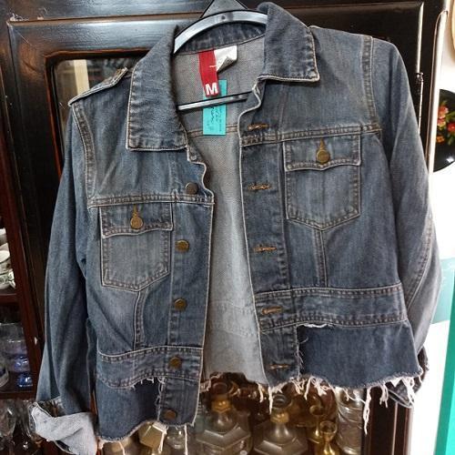 ג'קט ג'ינס צעיר